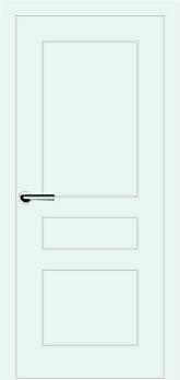 Міжкімнатні двері Брама модель 7.4 (фарба)