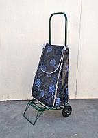 Усиленная хозяйственная сумка тележка на колесах с подшипниками (0085)