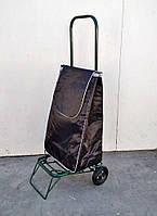 Усиленная хозяйственная сумка тележка на колесах с подшипниками (0104)