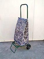 Усиленная хозяйственная сумка тележка на колесах с подшипниками (0107)