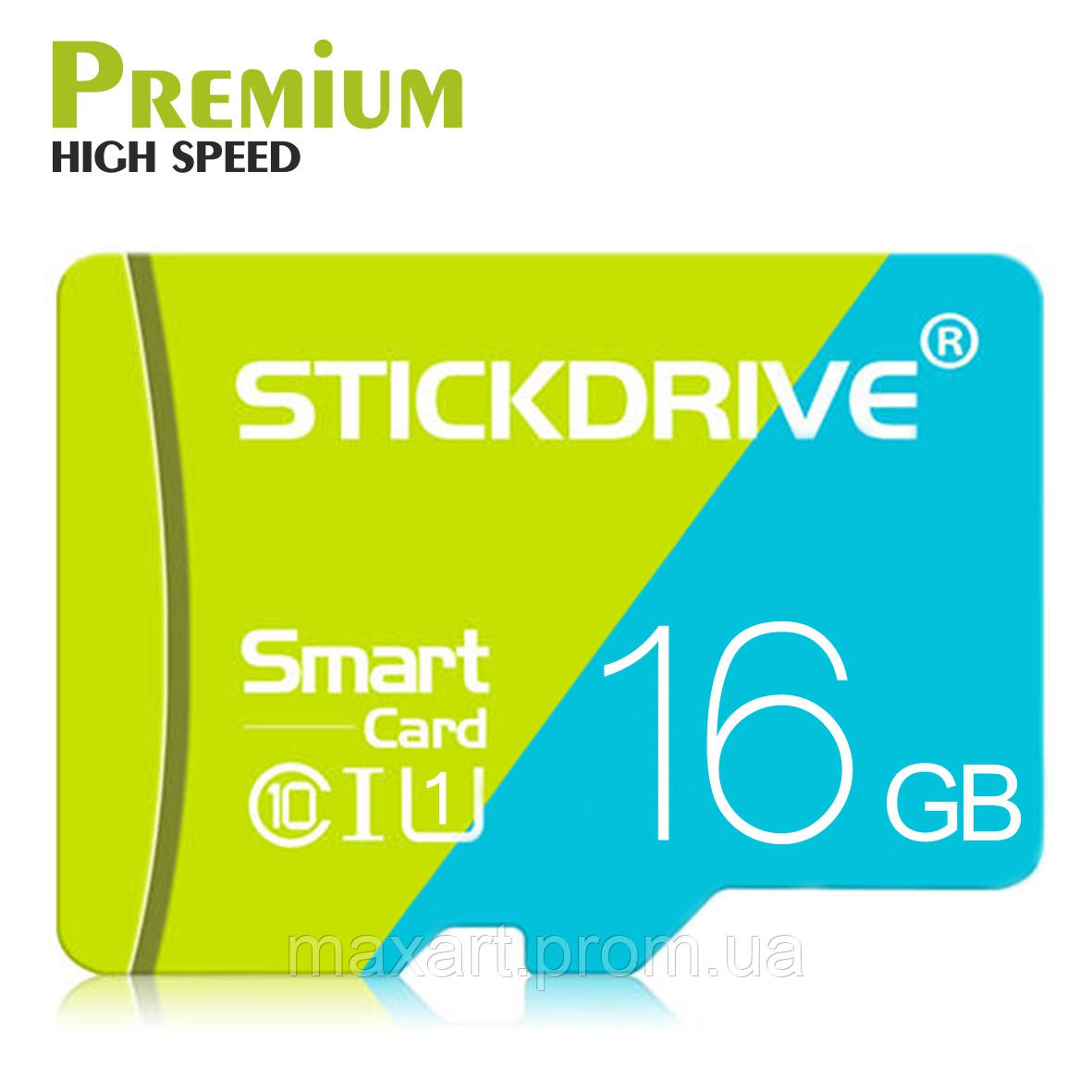 Карта памяти microSD Premium STICKDRIVE (GB U1016) 16 GB, class U1