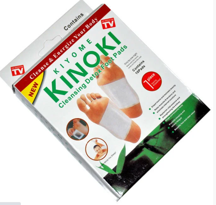 Очищающий пластырь для стоп Kinoki
