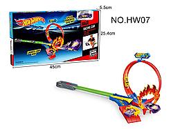 Дитячий трек запуск Хот Вілс | Hot Wheels HW07 (одна машина)