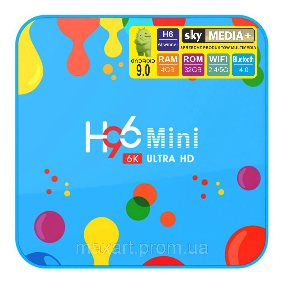 Android TV приставка SKY (H96 mini H6) 4/32 GB