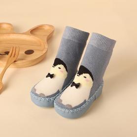 Детские махровые носки-чешки.