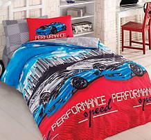 Комплект постельного белья Zugo Home ранфорс Tokyo Drift полуторный (ts-01865)