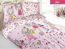 Комплект постельного белья Zugo Home ранфорс She полуторный (ts-01864)