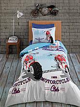 Комплект постельного белья Zugo Home ранфорс Racing полуторный (ts-01862)