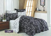 Комплект постільної білизни Zugo Home сатин Luya V1 сімейний