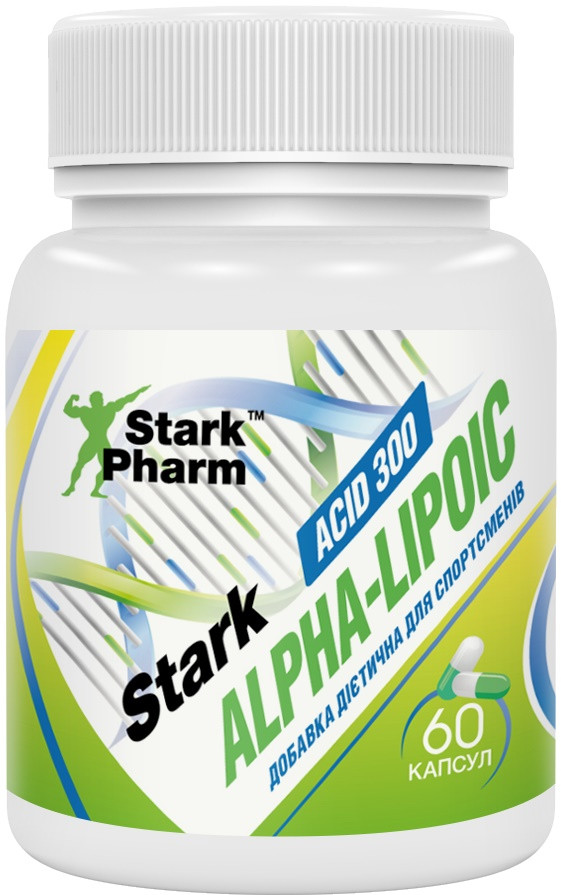 Антиоксидант Stark Pharm - Alpha Lipoic Acid (ALA) 300 мг (60 капсул)