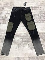 Крутые мужские джинсы с карманами -20221K139-2 - Хит сезона ! Новинка !