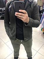 Мужская спортивная кофта с капюшоном - 35