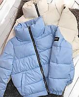 Стильная теплая женская куртка на силиконе в расцветках (Норма), фото 8