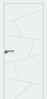 Межкомнатные двери Брама модель 7.6 (краска)