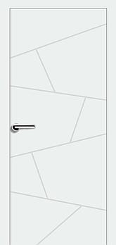 Міжкімнатні двері Брама модель 13.6 (фарба)