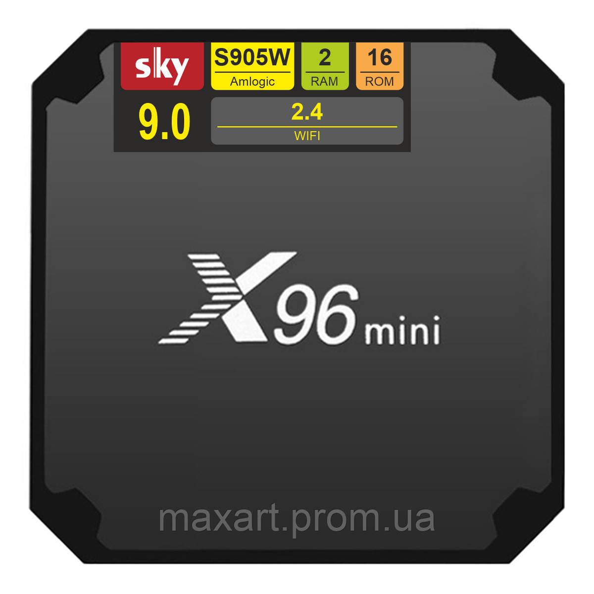 Android TV приставка SKY (X96 mini) 9.0 2/16 GB