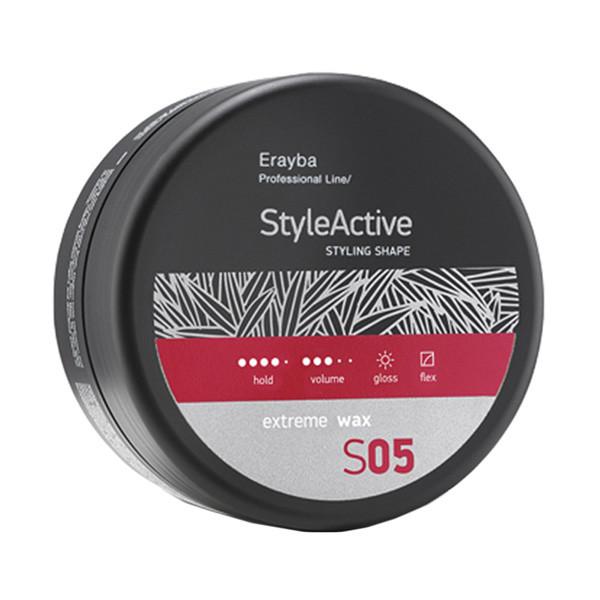 Воск для волос сильной фиксации Erayba Style Active Styling Shape S05 Extreme Wax