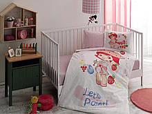 Комплект постільної білизни Tac Disney S. Shortcake Paint Baby немовлятам