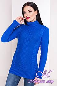 Женская свитер под горло электрик (р. УН - S, M, L) арт. Э-17-14/20060