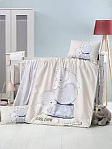 Комплект постільної білизни для немовлят Victoria Ранфорс Frozen