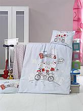 Комплект постільної білизни для немовлят Victoria Ранфорс Bunnies
