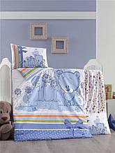 Комплект постільної білизни для немовлят Victoria Ранфорс Bear