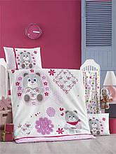 Комплект постільної білизни для немовлят Victoria Ранфорс Baby Love