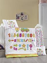 Комплект постільної білизни для немовлят Victoria Ранфорс Abakus