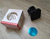 Магнитный держатель для телефона с креплением в дефлектор решетку воздуховода автомобиля прищепка с поворотом