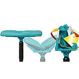 Швабра лентяйка с автоматическим отжимом для быстрой уборки Titan Twist Mop Чудо швабра 360 Синяя титан моп, фото 2