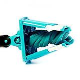 Швабра лентяйка с автоматическим отжимом для быстрой уборки Titan Twist Mop Чудо швабра 360 Синяя титан моп, фото 4