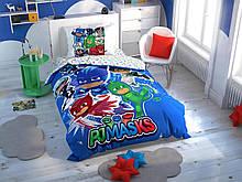 Комплект постельного белья Tac Disney PJ Masks Hero подростковое