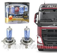 H-4 24V 75/70W +30% P43T NLFS Гарантия качества! Лампы с эффектом ксенона Cool Blue Intense + 30%