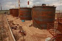 Реконструкция резервуарного парка на действующем предприятии
