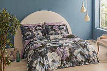 Комплект постельного белья Tac Bamboo Saphira V01 lila полуторный лиловый (TAC60213392)