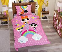 Комплект постельного белья Tac Disney Power Puff Girls Stars подростковое (TAC60207322)