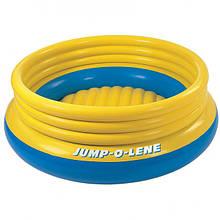 Intex надувний батут 48267 203 см Жовто-синій (int_48267)