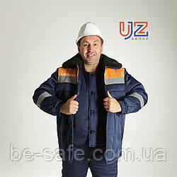"Куртка рабочая зимняя утепленная ""Мороз"", спецодежда"