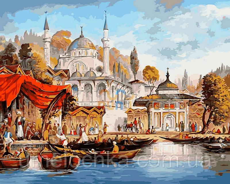 Набор для рисования Babylon Стамбул. Мечеть Ускюдар Худ. Таркер Аян VP486