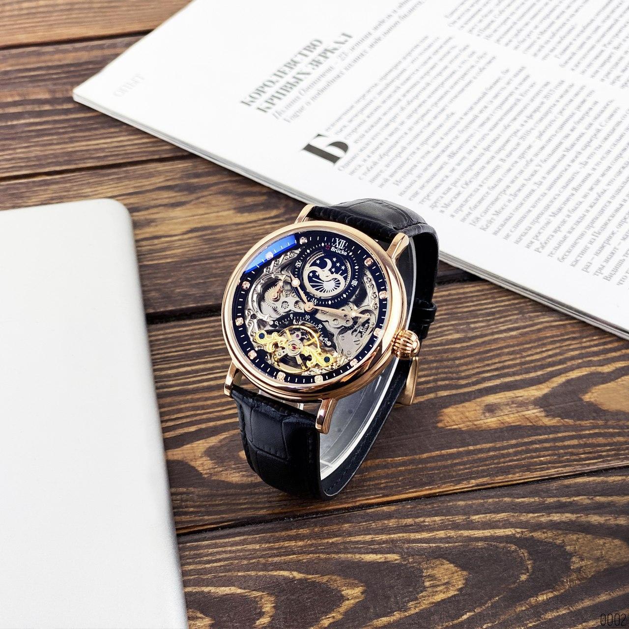 Механические часы модель  Brücke J055