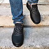 Кроссовки ЗИМНИЕ Мужские Colamb!a Туфли на Меху Чёрные (размеры: 44) Видео Обзор, фото 3