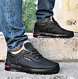 Кроссовки ЗИМНИЕ Мужские Colamb!a Туфли на Меху Чёрные (размеры: 44) Видео Обзор, фото 8