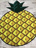Коврик для пляжа - ананас