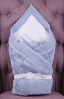 "Зимний конверт одеяло ""Мечта"" голубой"