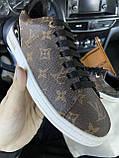 Женские кроссовки Louis Vuitton Sneakers Brown, кроссовки луи виттон сникерсы, жіночі кросівки Louis Vuitton, фото 5