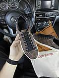 Женские кроссовки Louis Vuitton Sneakers Brown, кроссовки луи виттон сникерсы, жіночі кросівки Louis Vuitton, фото 3