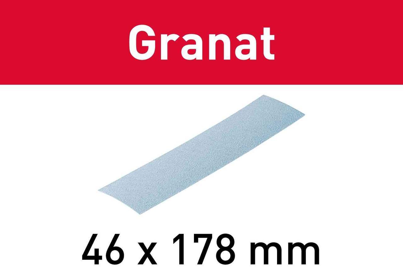Шліфувальний лист Granat STF 46X178 P80 GR/10
