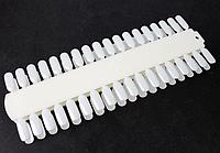 Палитра для нанесения гель лаков (молочная\беж)
