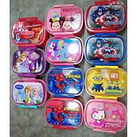 """Пищевой контейнер для ланча с ложечкой """"Детский"""" EL 246-44 (R0177)"""