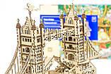 Mr.Playwood Деревянный 3D пазл Тауэрский мост (деревянный конструктор), 10401, фото 4